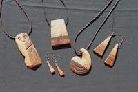 Holz-Schmuck-Auswahl - Bild 1